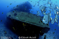 Saveiros wrecks in Recife-PE. by Edson Acioli 